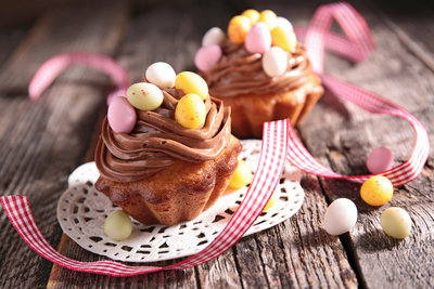 These classic yellow cupcakes with chocolate butter frosting are fun and easy to make and your Easter guests of all ages are guaranteed to love them.