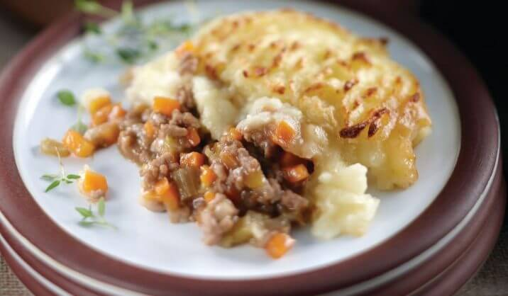 This wholesome, warming, Shepherd's Pie recipe will get you through the dreariest of winter days. When you go to the trouble of preparing the lamb base it's always worth making a really large pot of it. Then you can freeze it in small batches to use when the need arises.