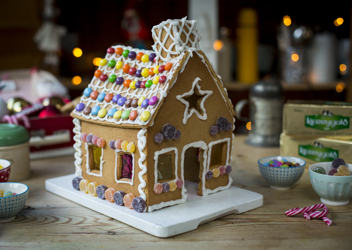 how to make a gingerbread house recipe