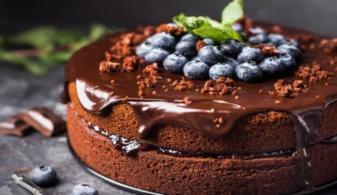 This impressive but simple chocolate cake ticks all the boxes for Easter entertaining. You can swap out the blueberries for other fruits to make this showstopper all year round.