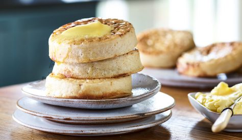 Light and fluffy, delicious topped with Kerrygold for breakfast or snack