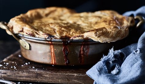As the evenings are drawing in and the nights are getting colder, it only means one thing – you've guessed it, pie is back on the menu! See our recipe below for this staple winter warmer.