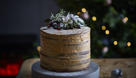 The perfect showstopper cake for the festive season.