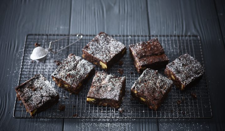 A festive twist on a classic brownie recipe; perfect for a Christmas treat.