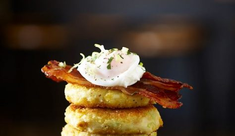 This is a brilliant recipe for using up any leftover mashed potato, perfect for a breakfast treat.