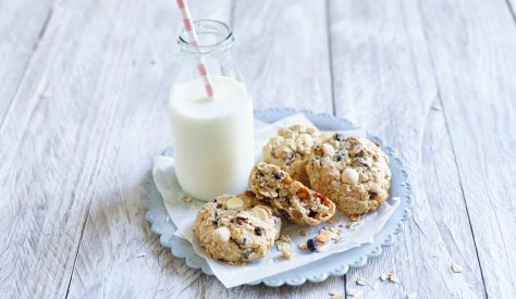 Delicious Oatmeal Biscuit recipe made with Kerrygold butter. The perfect family tea time snack.